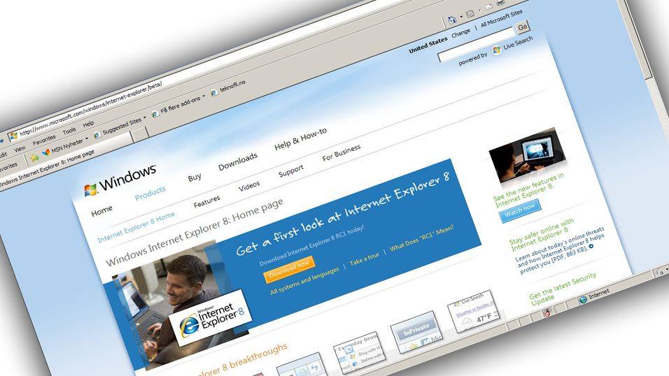 Idag kommer nye Internet Explorer