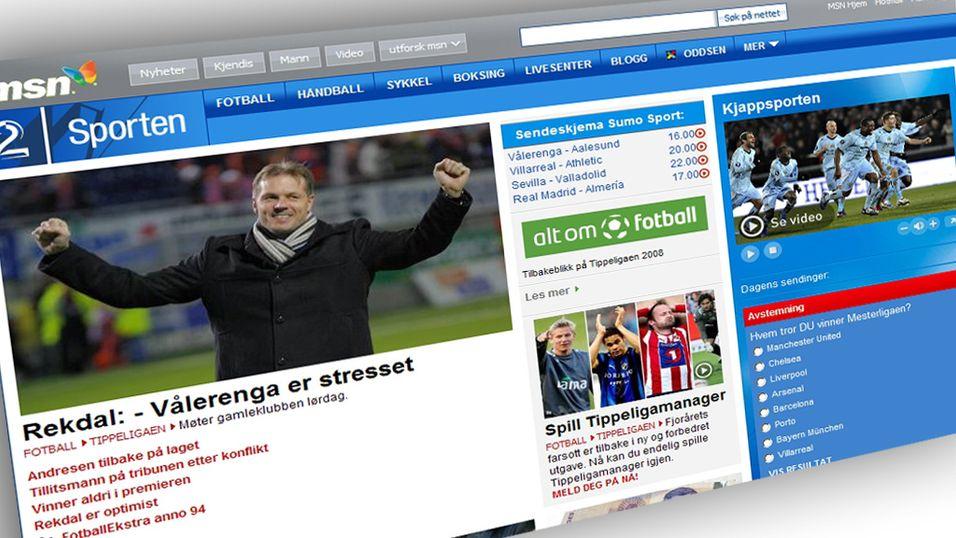 TV2 Sport i alle kanaler