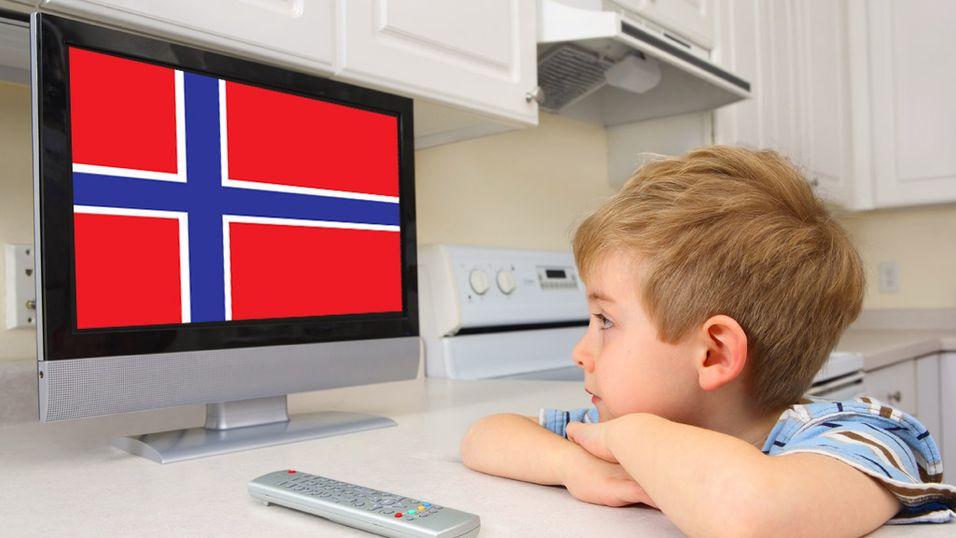 Du ser mest på norske kanaler