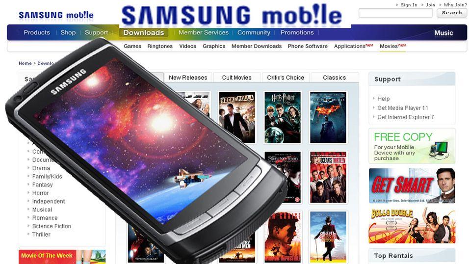 Samsung med filmbutikk