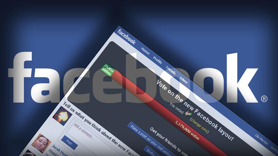 Facebook overser brukere