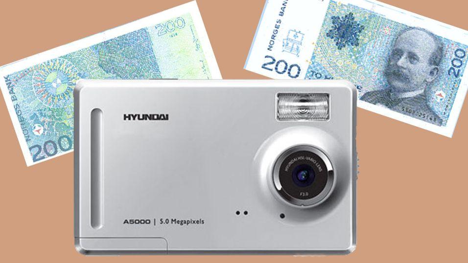 Billigst kamera fra Hyundai