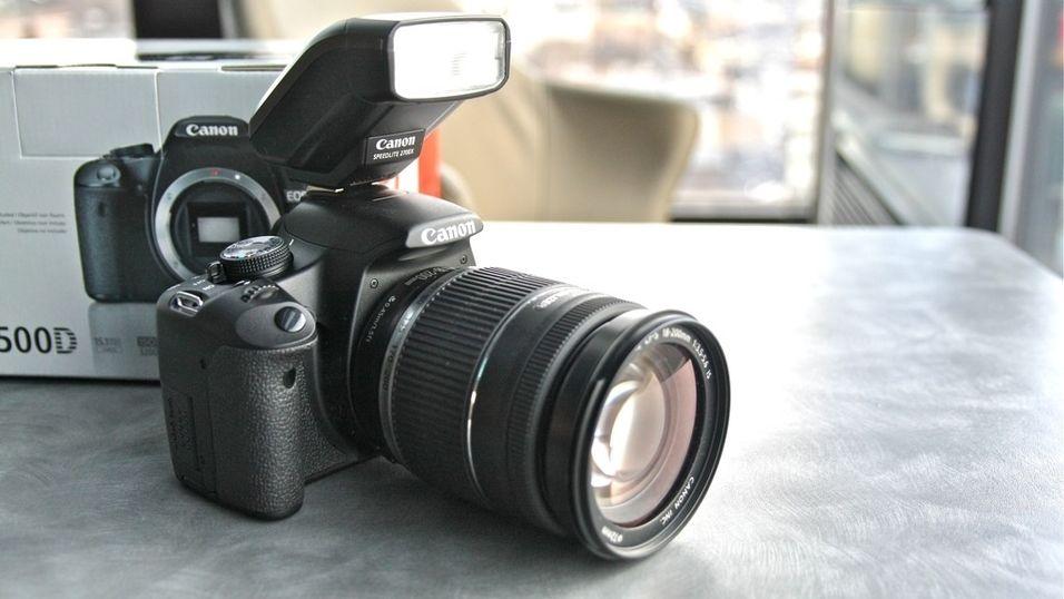Her er Canon 500D med HD-video
