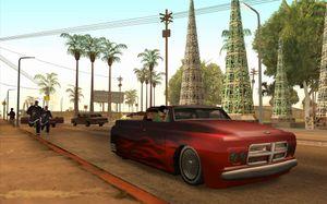 San Andreas var et gigantisk spill, med hele tre storbyer.