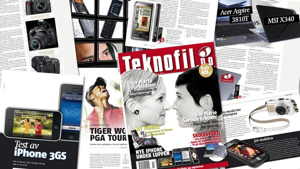 Abonner på Teknofil-magasinet