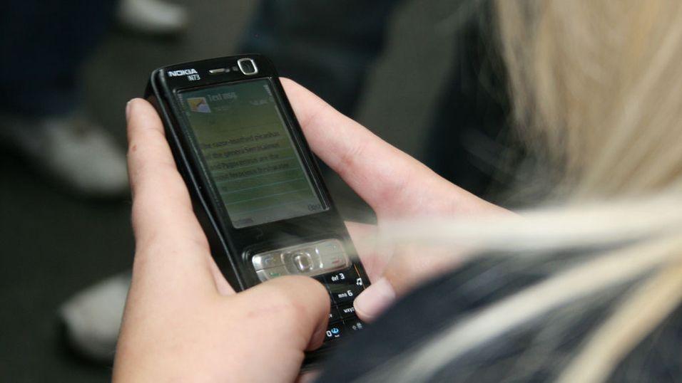 SMS-avstemning mest pop blant kvinner