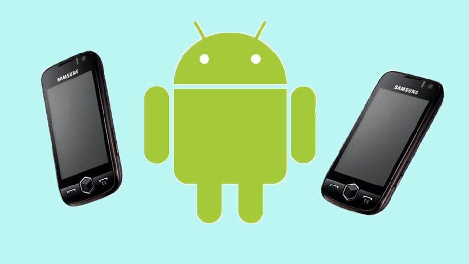 Rykter om Samsung-Android