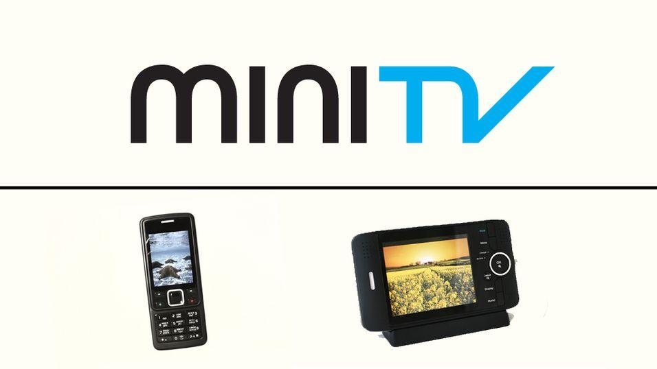 Og navnet er… MiniTV