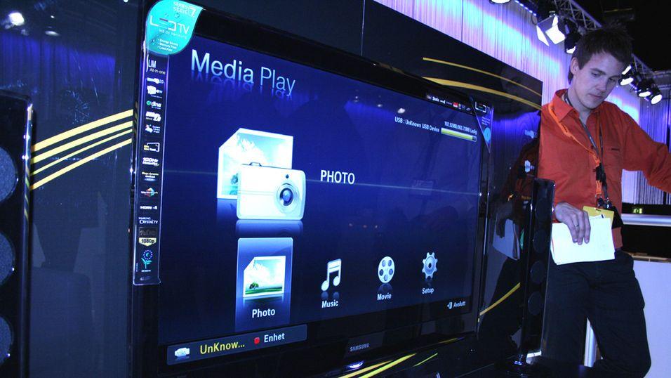Få mobilinnhold rett i TV-en