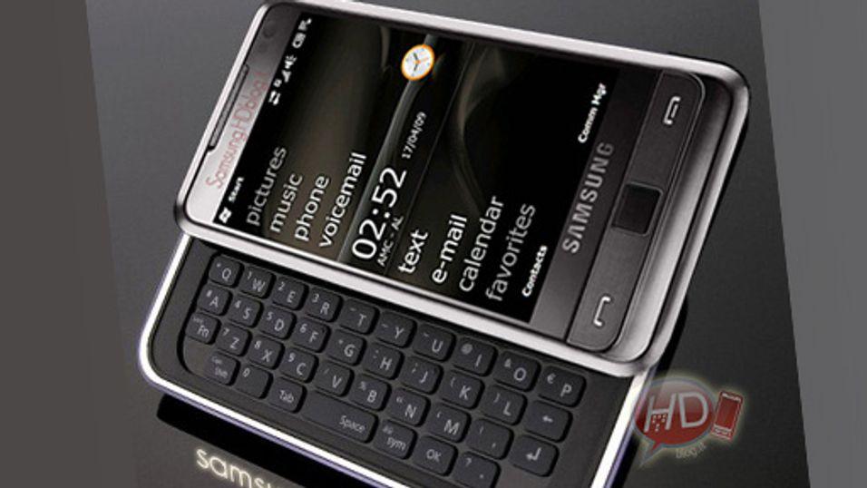 Får Samsung Omnia Pro eget tastatur?