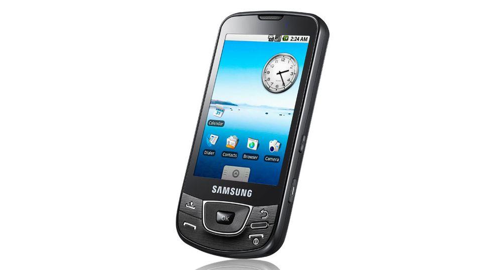 Samsung lanserer Android-mobil