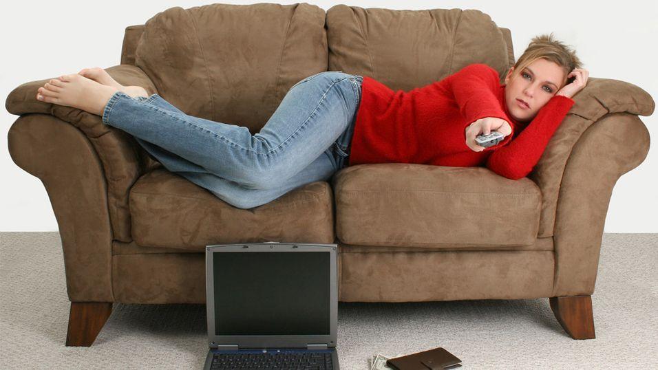 GUIDE: TV-skolen: Slik kobler du PC-en til flatskjermen