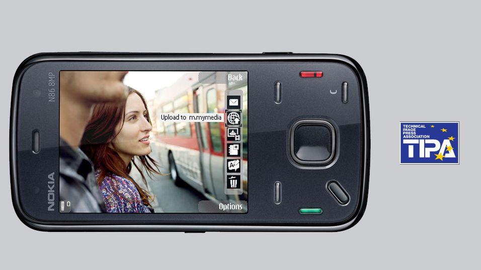 """Nokia N86 vant """"beste kameramobil""""-pris"""