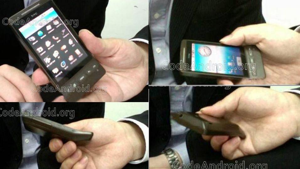 Spionbilder av HTC Hero
