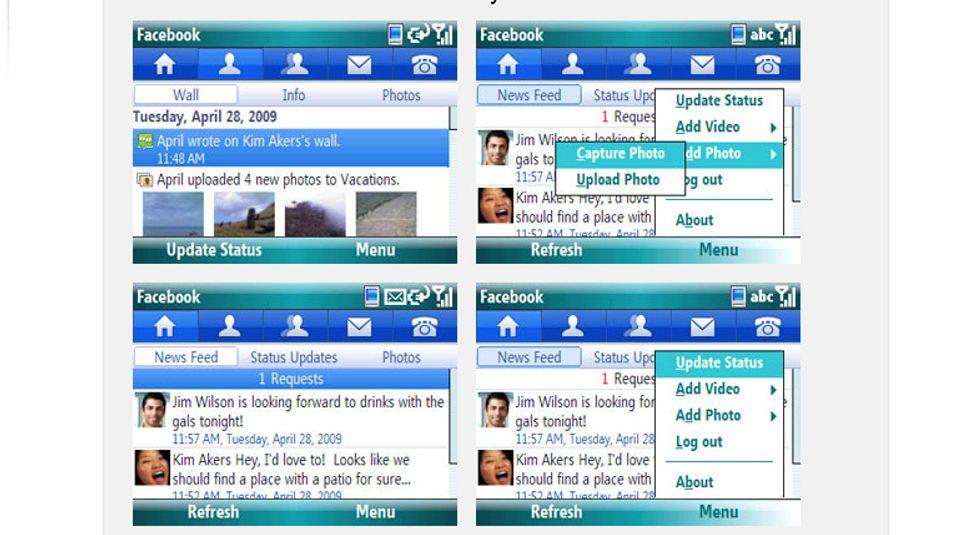 Facebook til Windows mobile