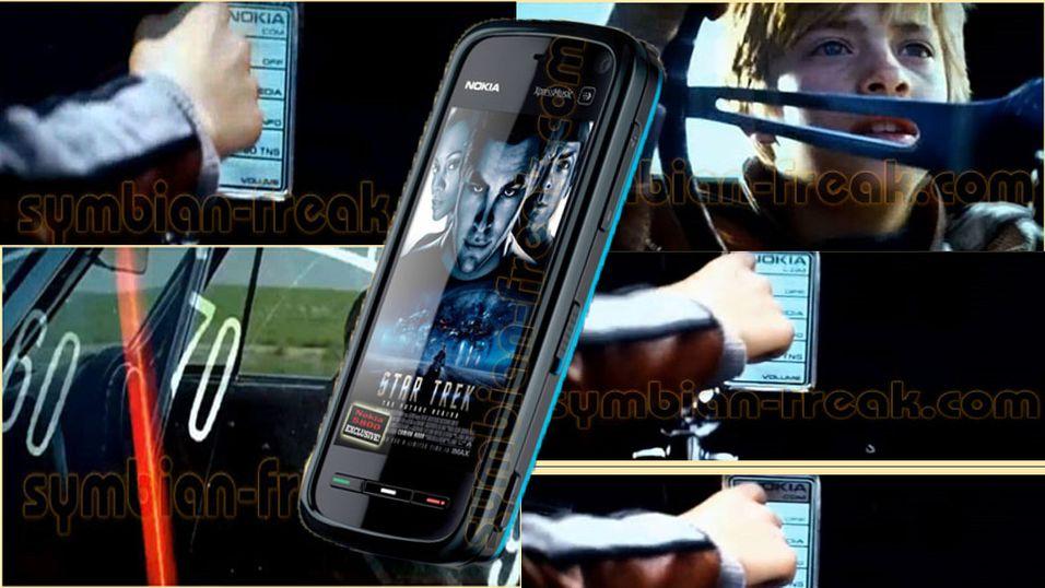 Se Nokias Star Trek-mobil