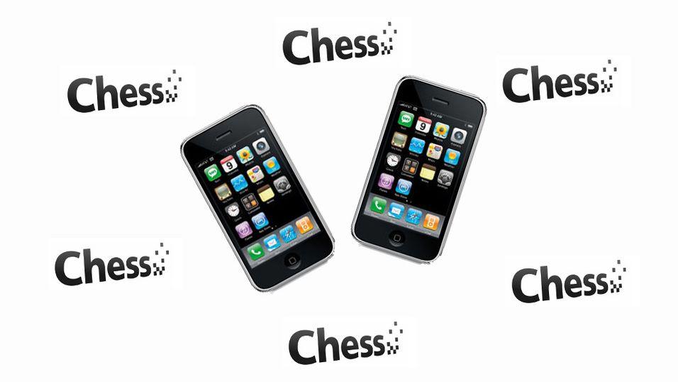 Endelig Iphone til Chess