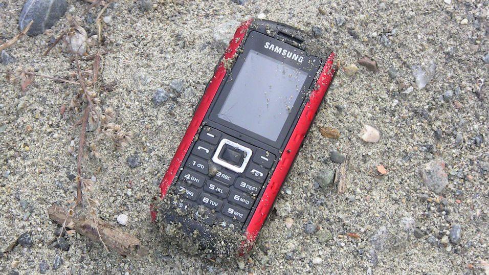 TEST: Test: Samsung B2100 - vanntett tøffing