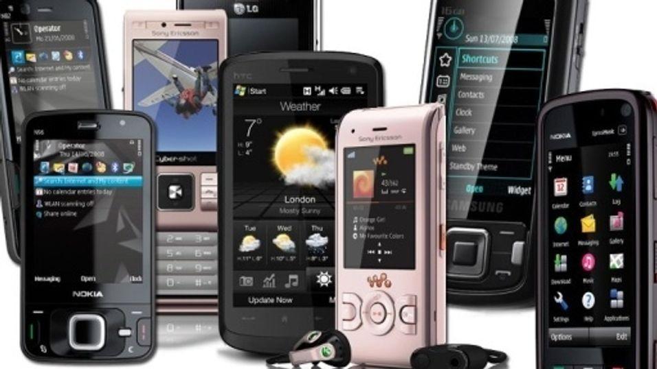 Sony Ericsson og Nokia selger færre mobiler