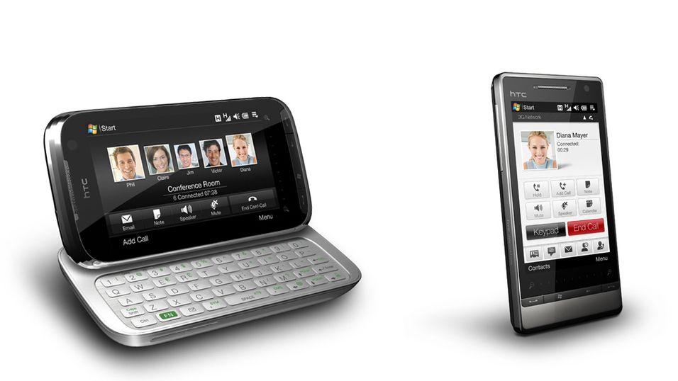 Oppdateringer til HTC-mobiler