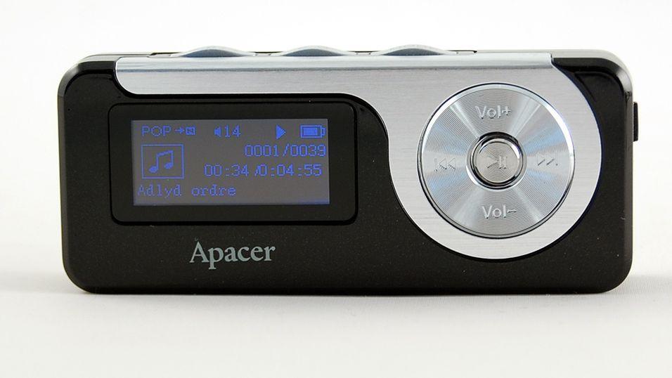 TEST: Test av Apacer Audio Steno AU350