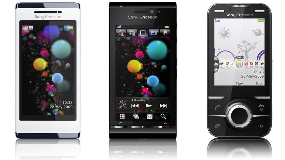 Nye monstermobiler fra Sony Ericsson