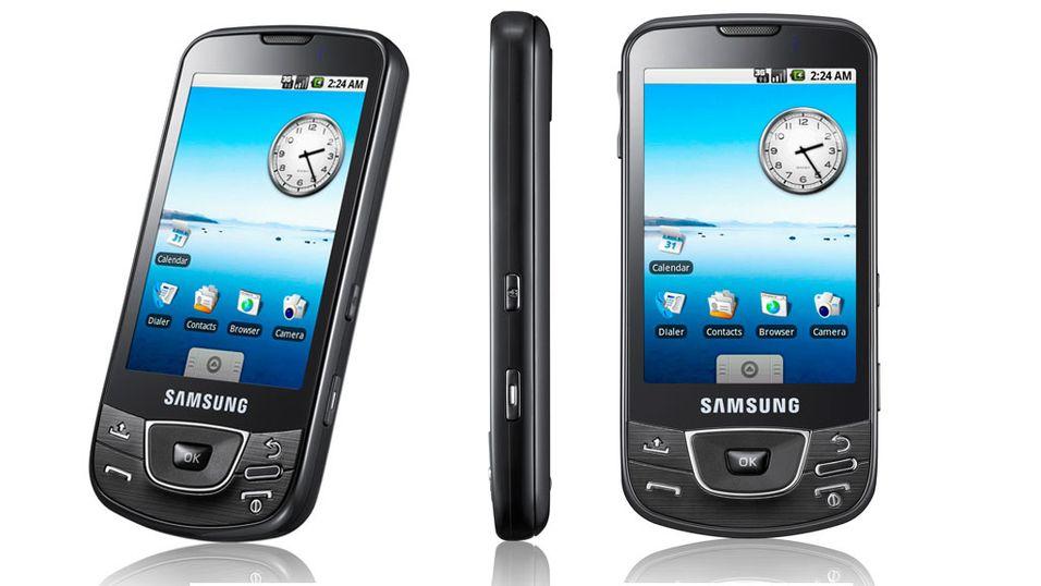 Sniktitt på Samsung I7500 Android