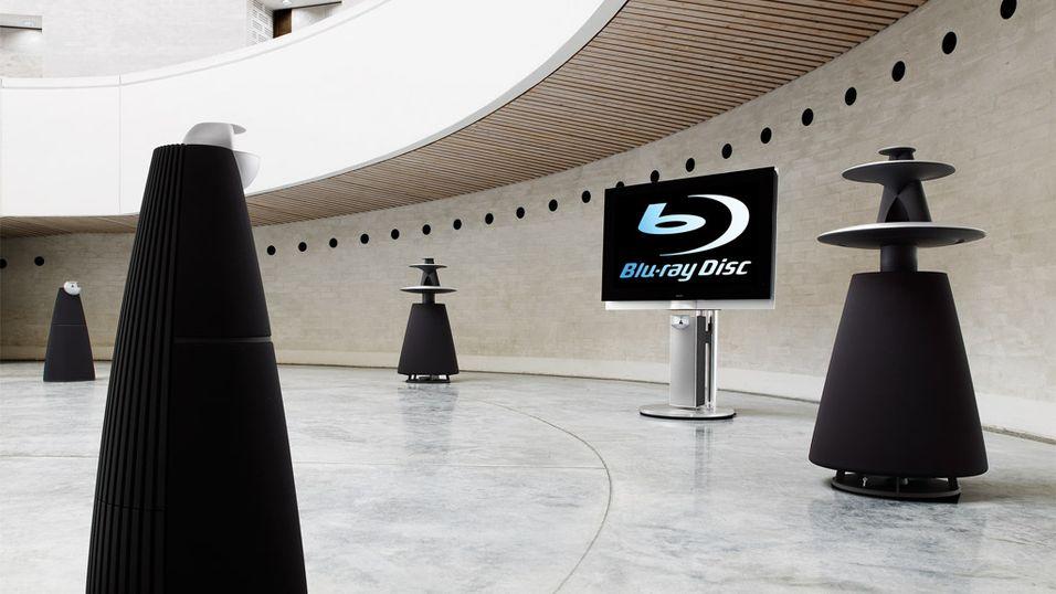 Bang & Olufsen med Blu-ray-TV