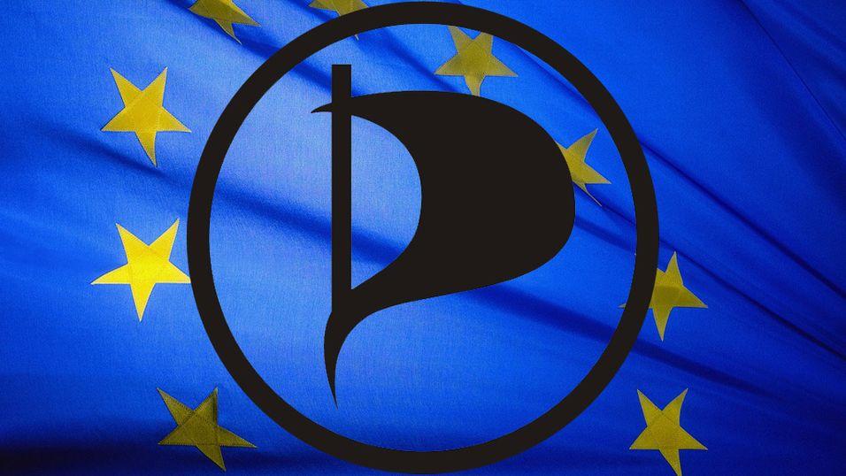 Piratpartiet inntar EU-parlamentet