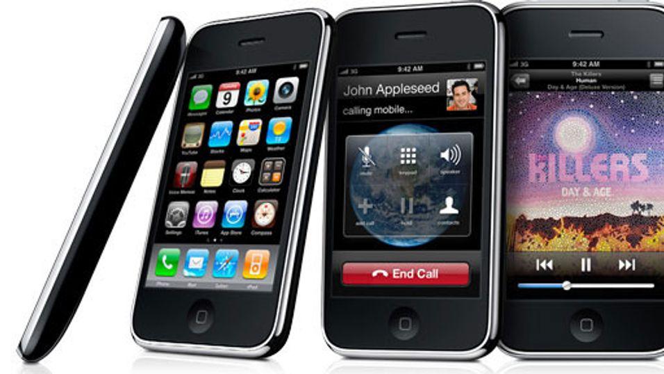 Se video av nye iPhone 3GS