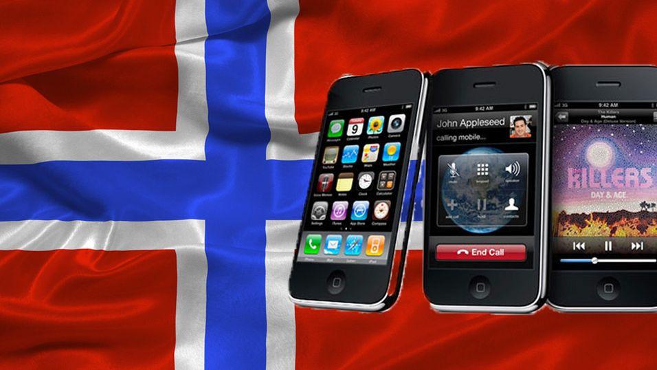 Én måned til norsk iPhone 3GS