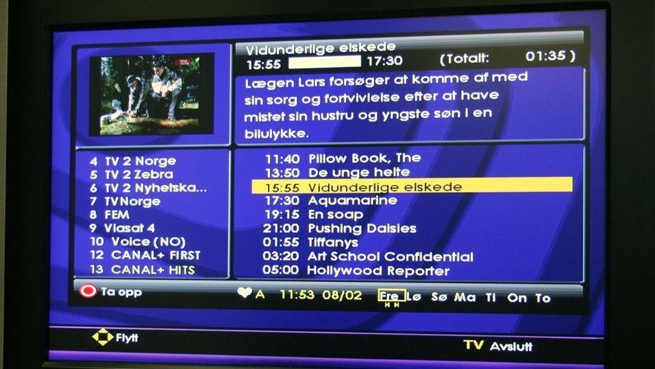 Canal Digital endrer kanaloppsett