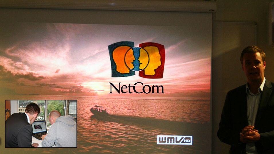 NetCom viser frem superkjapt 4G
