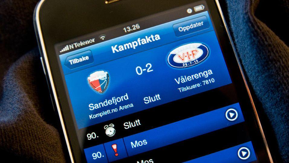 Lyntest: TV 2 Sporten på iPhone