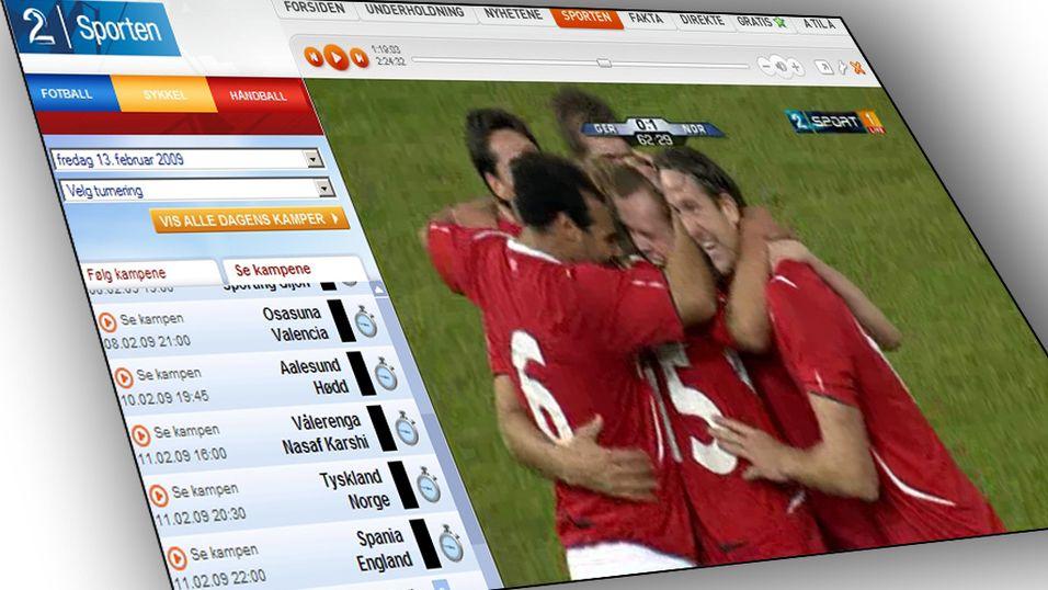 Se TV 2 HD via nett