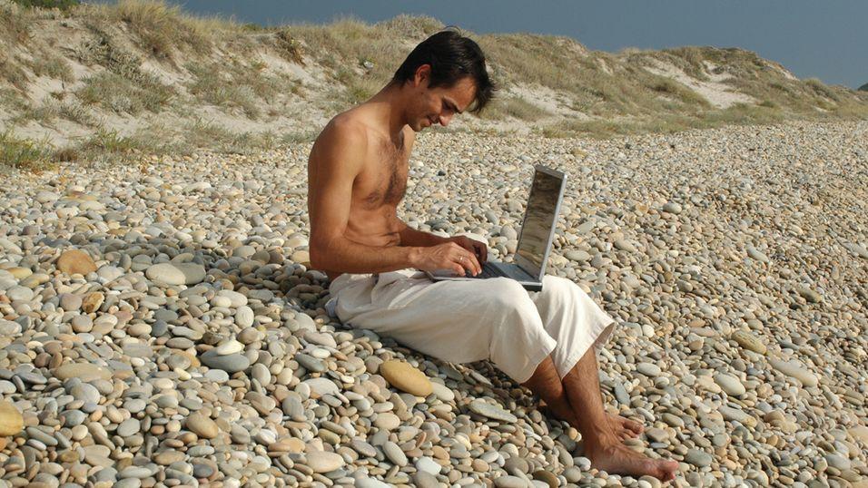 PC-en blir med på ferie