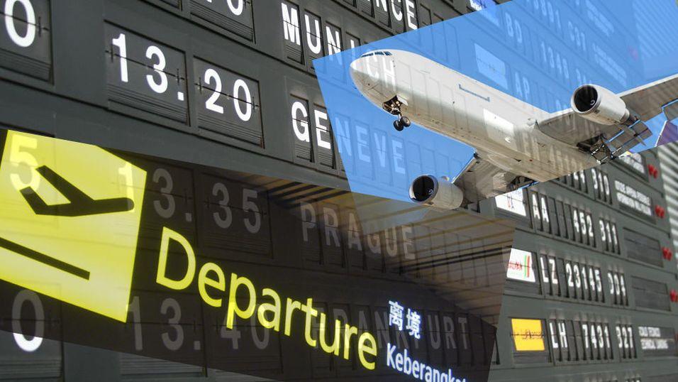 Bør du handle før du reiser?