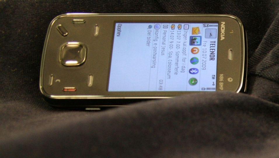 Sniktitt på Nokia N86