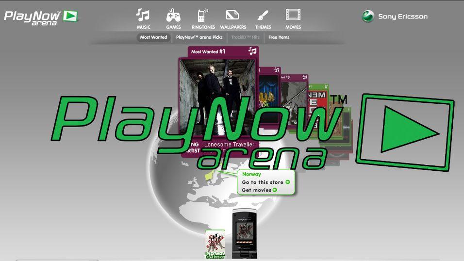 Sony Ericsson har oppdatert Play Now Arena