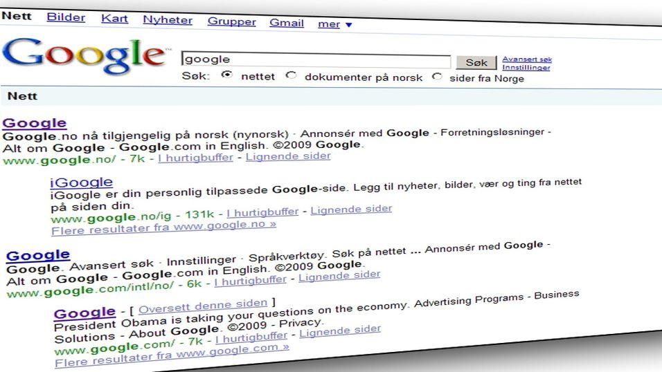 Google må ikke fjerne netthets
