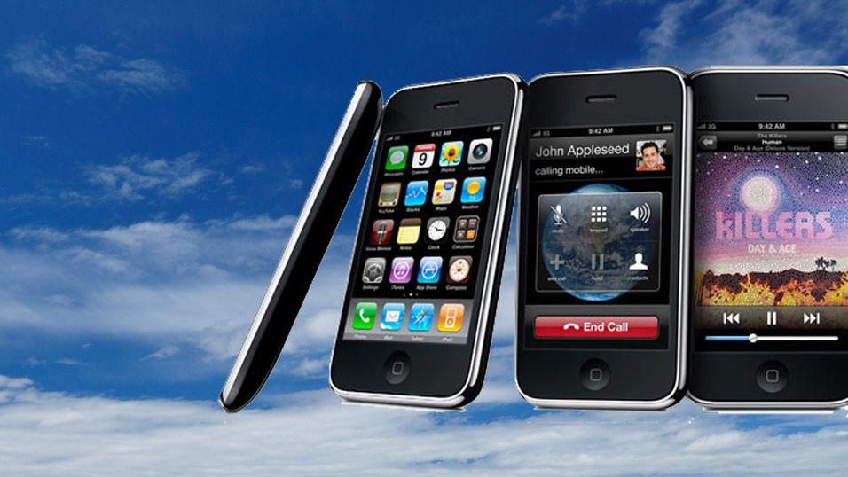 iPhone-inntekter til himmels