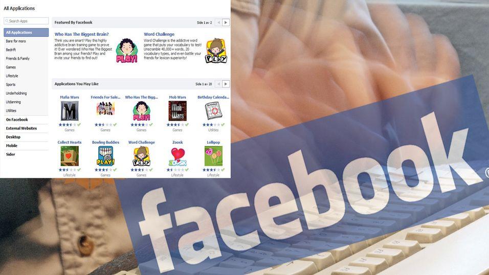 Gode Facebook-applikasjoner