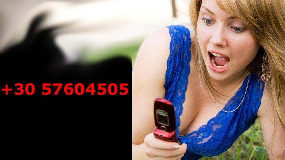 Uforklarlig telefon-SPAM fra utlandet
