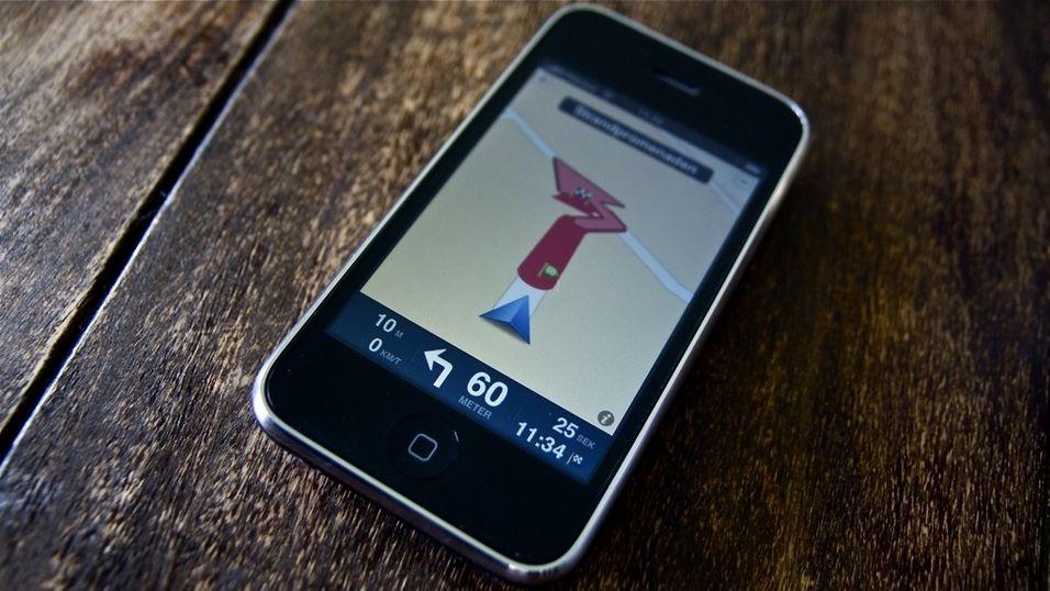 Sniktitt: Tomtom til iPhone
