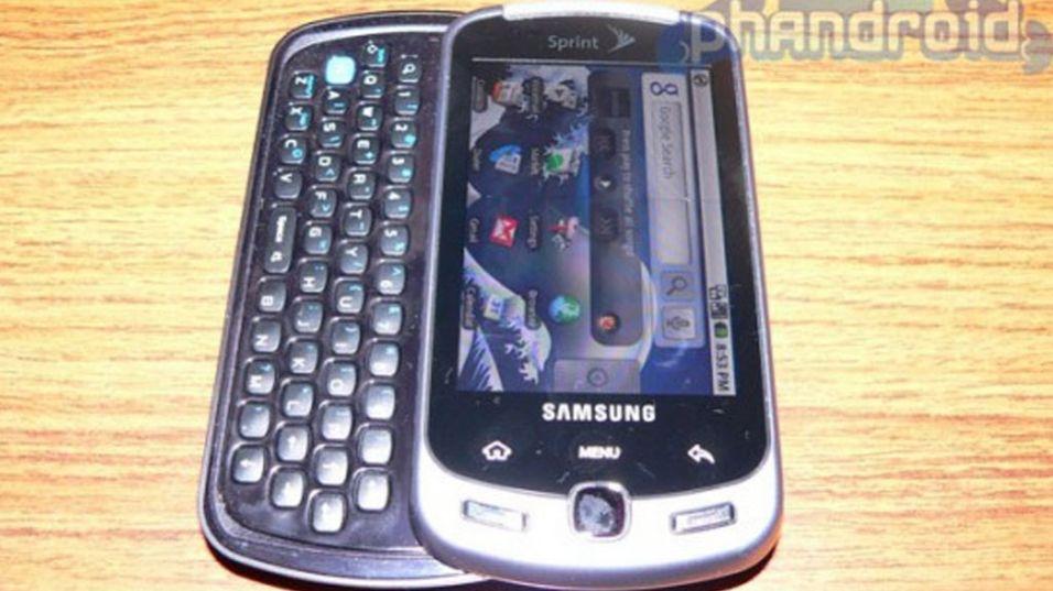 Bilder av Samsung InstinctQ