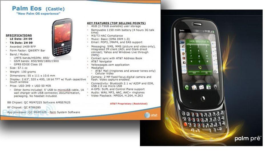 Palm EOS først med WebOS i Norge?