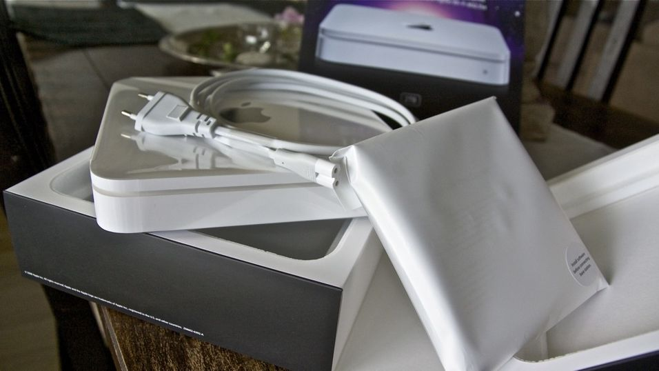 TEST: Test av Apple Time Capsule