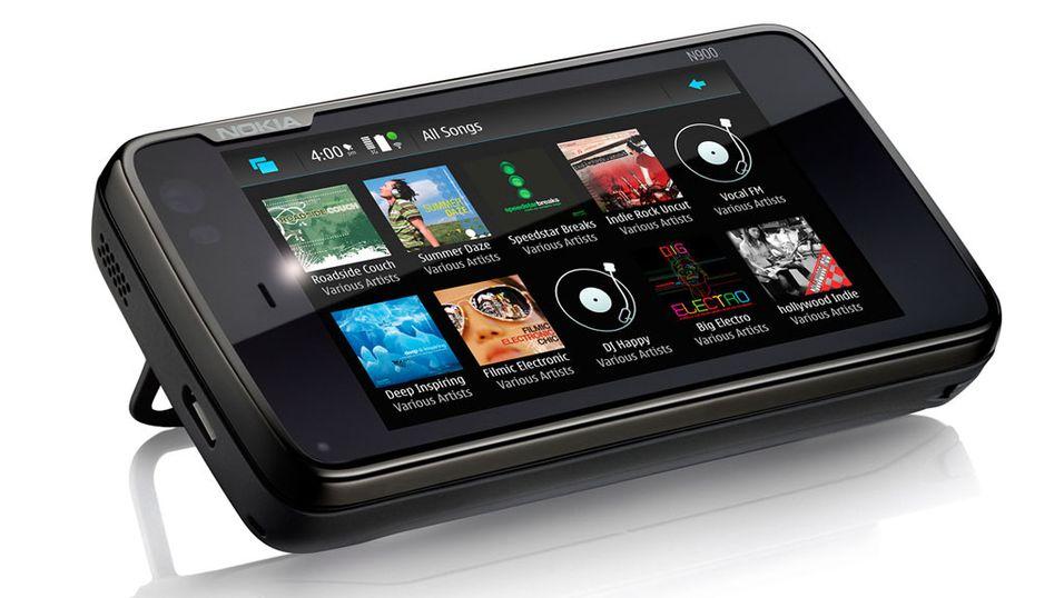 Nokia smartmobil med Linux