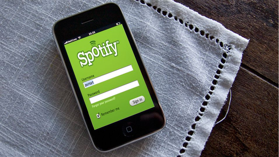Spotify til iPhone godkjent