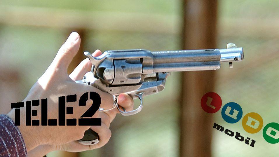 Tele2 lader revolveren